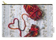Knitted With Love Carry-all Pouch
