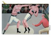 Knock Out Carry-all Pouch by Jerzy Marek
