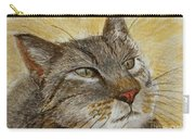 Knowing Look Of Wisdom Carry-all Pouch
