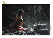 Knowledge. Anna At Eureka Waterfalls. Mauritius Carry-all Pouch