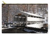 Knox Bridge In The Snow Carry-all Pouch