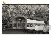 Knox Covered Bridge In Sepia Carry-all Pouch