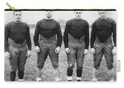 Knute Rockne's Backfield Carry-all Pouch