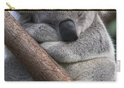 Koala Male Sleeping Australia Carry-all Pouch
