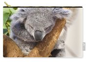 Koala Sleeping  Carry-all Pouch