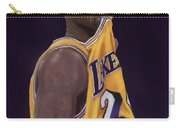 Kobe Bean Bryant Carry-all Pouch by Jeremy Nash