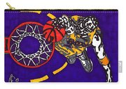 Kobe Bryant Carry-all Pouch by Jeremiah Colley