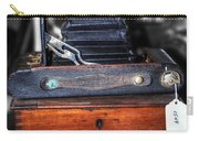 Kodak Folding Autographic Brownie 2-a Carry-all Pouch by Kaye Menner