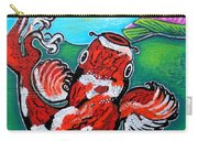 Koi Fish And Water Lily Carry-all Pouch