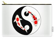 Koi Kohaku And Taisho Sanke Yin Yang Painting Carry-all Pouch