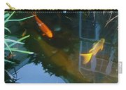 Koi - Oil Painting Effect Carry-all Pouch