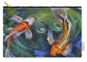Koi Swirl Carry-all Pouch