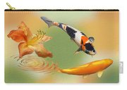 Koi With Azalea Ripples Dreamscape Carry-all Pouch