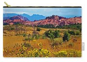 Kolob Terrace Road In Zion National Park-utah Carry-all Pouch