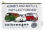 Kombis And Beetles Last Forever Carry-all Pouch