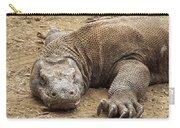 Komodo Dragon Male Basking Komodo Island Carry-all Pouch