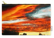 Kona Sunset 77 Lava In The Sky  Carry-all Pouch