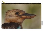 Kookaburra Portrait Carry-all Pouch