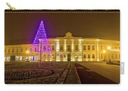 Koprivnica Night Street Christmas Scene Carry-all Pouch