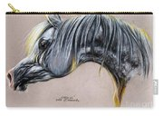 Kordelas Polish Arabian Horse Soft Pastel Carry-all Pouch