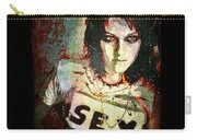 Kristen Stewart As Joan Jett - Gothic Red Carry-all Pouch