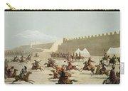 Kurdish And Tatar Warriors At Sadar Carry-all Pouch