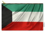 Kuwait Flag  Carry-all Pouch by Les Cunliffe