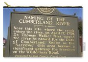 Ky-2045 Naming Of The Cumberland River Carry-all Pouch