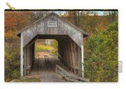 Ky Hillsboro Or Grange City Covered Bridge Carry-all Pouch