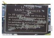 La-013 Le Fort Saint-charles Carry-all Pouch