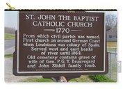 La-024 St John The Baptist Catholic Church 1770 Carry-all Pouch