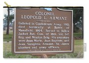 La-026 Colonel Leopold L. Armant Carry-all Pouch