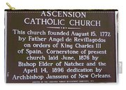 La-031 Ascension Catholic Church Carry-all Pouch