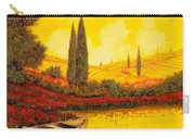 La Barca Al Tramonto Carry-all Pouch by Guido Borelli
