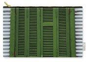La Boca Shutter Green Carry-all Pouch