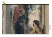 La Charite Romaine Carry-all Pouch by William Bouguereau