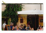 La Dolce Vita At A Cafe In Italy Carry-all Pouch