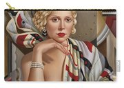 La Femmeen Soiehi  Carry-all Pouch by Catherine Abel