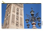 La Giralda Cathedral Tower In Seville Carry-all Pouch