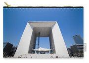 La Grande Arch In La Defense Business District Paris France Carry-all Pouch