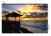 La Jolla At Sunset By Diana Sainz Carry-all Pouch