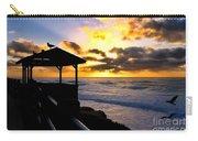 La Jolla At Sunset By Diana Sainz Carry-all Pouch by Diana Sainz