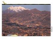 La Paz Skyline At Sundown Carry-all Pouch