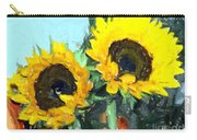 La Peinture Impressionniste De Tournesol Carry-all Pouch