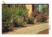 La Posada Gardens In Winslow Arizona Carry-all Pouch by Priscilla Burgers