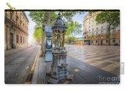 La Rambla Fountain  Carry-all Pouch