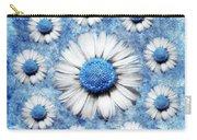La Ronde Des Marguerites - Blue V05 Carry-all Pouch