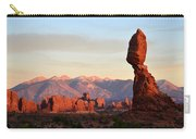 La Sal Mountains From Balanced Rock Carry-all Pouch
