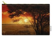 La Savana Al Tramonto Carry-all Pouch