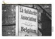La Solidarite Association Belgium Club Carry-all Pouch